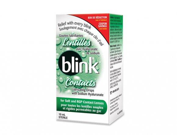 Gouttes lubrifiantes pour lentilles Blink Contacts® img