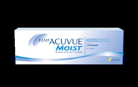 ACOVUE® MOIST 1 JOUR pour l'ASTIGMATISME