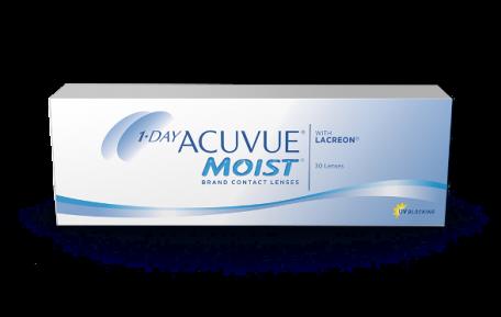 Conditionnement des lentilles cornéennes ACUVUE(MD) MOIST 1-JOUR