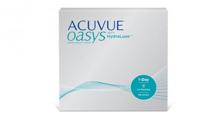 Conditionnement ACUVUE(MD) OASYS 1-jour avec technologie HydraLuxe(MD)