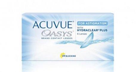 ACUVUE OASYS® 2 semaines de contact pour le produit d'astigmatisme