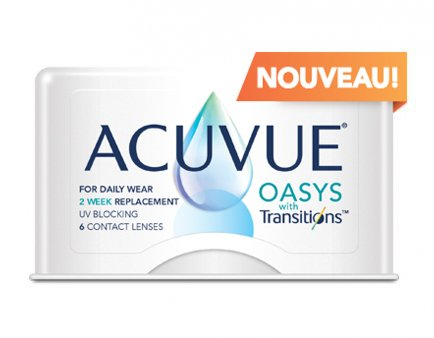 ACUVUE(MD) OASYS avec technologie Lumino-intelligenteTM TransitionsTM_img