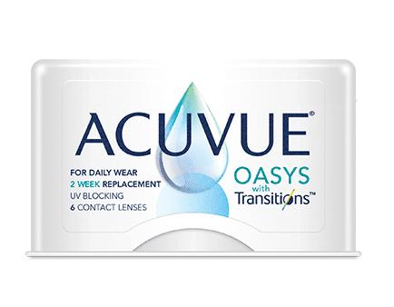 Produit ACUVUE(MD) OASYS avec Transitions(TM)