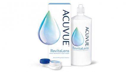 Produit Solution désinfectante à usages multiples pour lentilles cornéennes ACUVUE(MC) RevitaLens