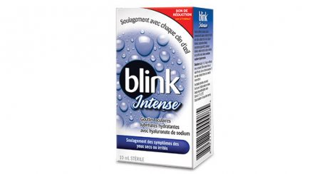 Gouttes oculaires lubrifiantes hydratantes Blink® Intense img