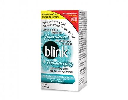 Gouttes oculaires lubrifiantes hydratantes Blink® image