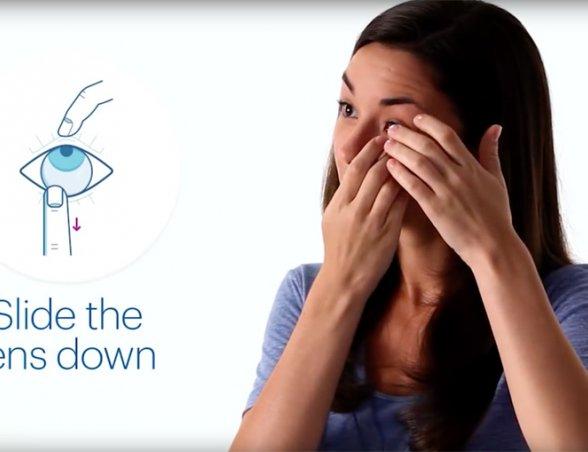 Comment mettre en contact des lentilles